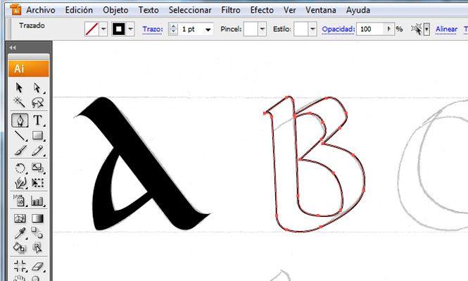 Didáctica de la tipografía (I): Aprendizaje de la caligrafía