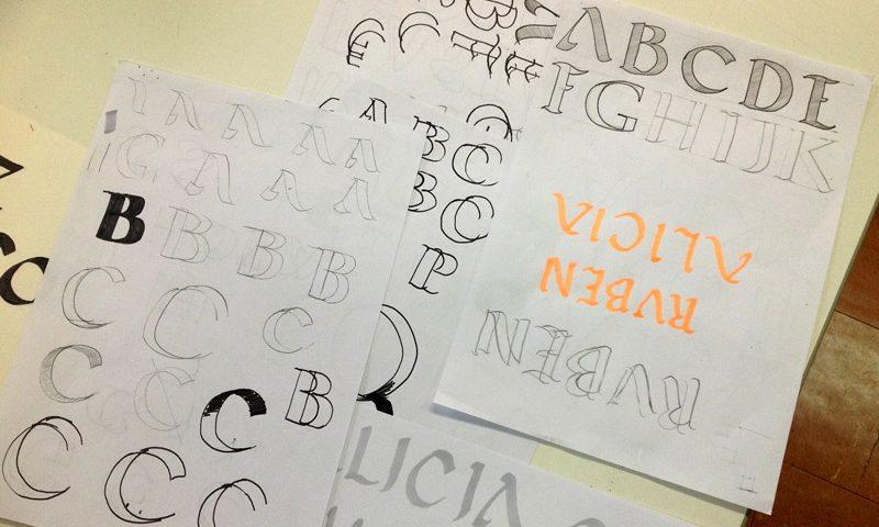 Didáctica de la Tipografía (II): Aprendizaje de la Caligrafía