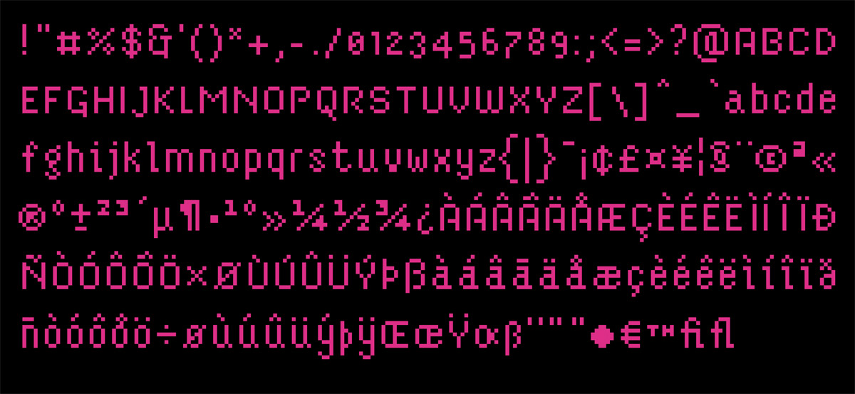 pixel-font-fontstruct-70