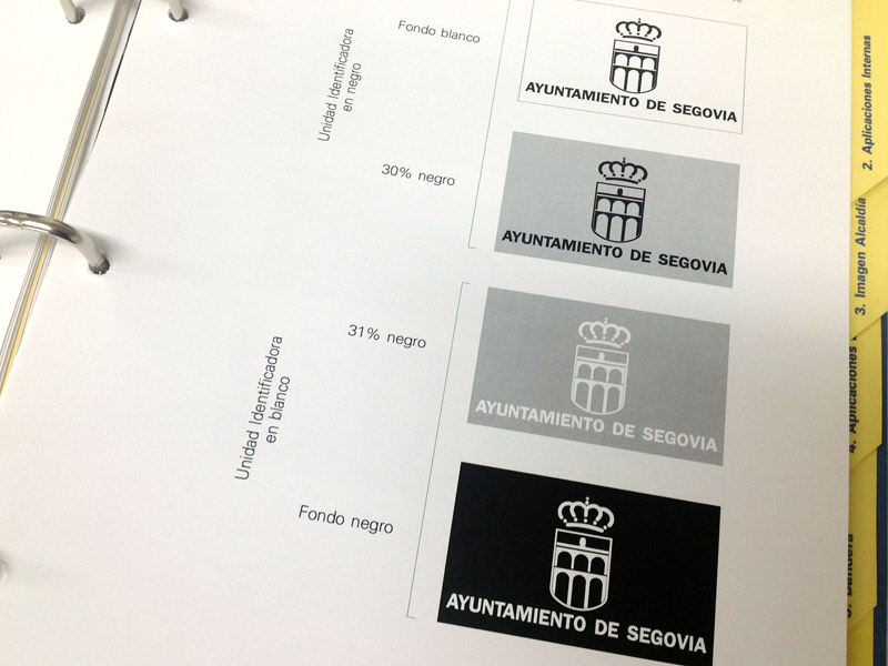 Logotipo Ayto Segovia
