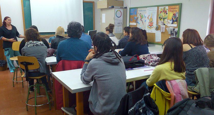 «Ilustrando Dudas» visita a los alumnos de Ilustración de la EASD de Segovia