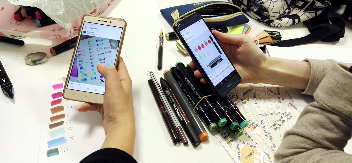 Ilustración e Instagram: Algunas posibilidades profesionales